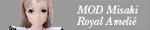"""10th series """"MOD Misaki/Royal Amelié"""""""