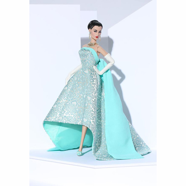 73012 Turquoise Sparkler Evelyn Weaverton® Doll