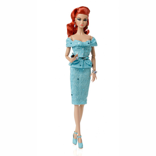 PP072 Poppy Parker 2014 IFDC IT Girl PP5th anniv Convention Companion Doll