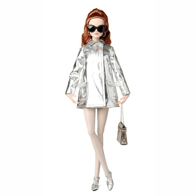 84011 Fashion Teen Poppy Parker Silver Shine Mallory Martin™ The Fashion Teen™ Collection 2016