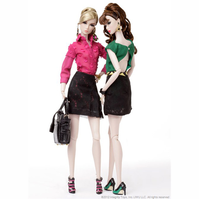 82043 NU. Face Lillith and Eden Two Doll Gift Set リリス&エデン「リード シングルス」 (ニューフェイス)2012