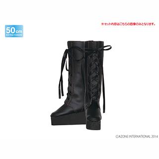 特別商品:48Luluna/Preface(通常販売ver.)/ブーツ ブラック(アゾンダイレクトストア限定商品)