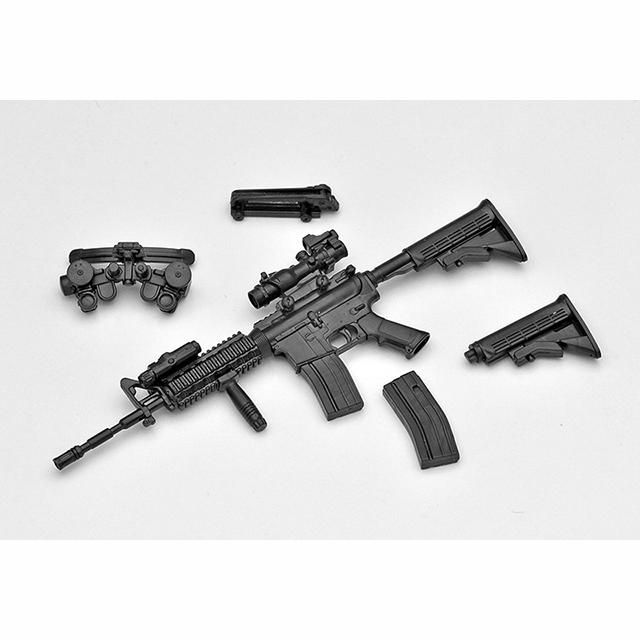 トミーテック 1/12LittleArmory M4A1タイプ LA001
