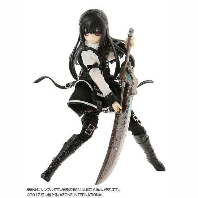 1/12Lilia(リリア)BlackRavenII~The Darkness full of city~Black shadow Edition.