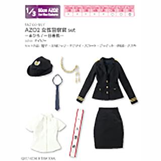 AZO2女性警察官set~まひろ/一日署長~