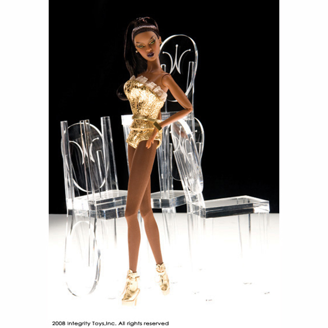 91192 Fashion Royality Adele Makeda Gold Stroke アデール マケダ 「ゴールドストローク」2008