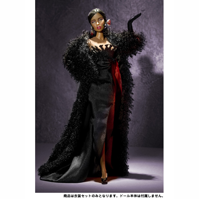 JB005 Hollywood Royalty ジョセフィン・ベーカー「ラ・ディヴァイン」※衣装セット(ハリウッドロイヤリティ)2009