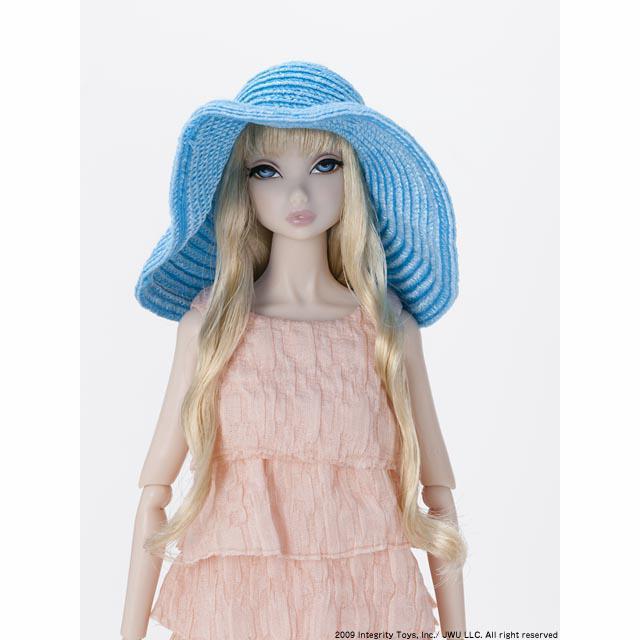 FRNippon:Bonjour! Misaki Turquoise Hat(ボンジュール・ミサキ ターコイズハット)