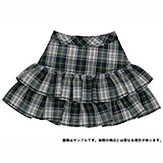 AngelicSigh チェックフリルミニスカート