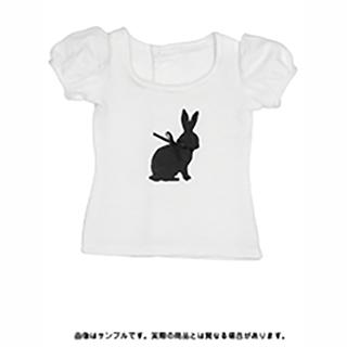 50うさぎパフスリーブTシャツ