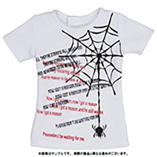50蜘蛛の巣プリントTシャツ