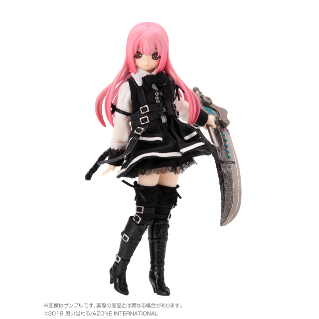 1/12Lilia(リリア)BlackRavenⅡ~The Darkness full of city~Pink Halloween Edition.