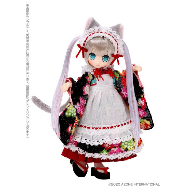 Lil'Fairy ~子猫の手も借りたい?/~イルミィ~クリスタルツインテールヘア~(アゾンオンライン販売ver.)