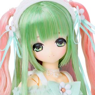 Magical☆CUTE/Floral Ease Miu(みう)~マジカルグリーンピンクヘア~(海外限定ver.)
