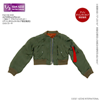 AZO2BlackRaven~MA-1 フライトジャケット~(アゾンダイレクトストア限定販売)