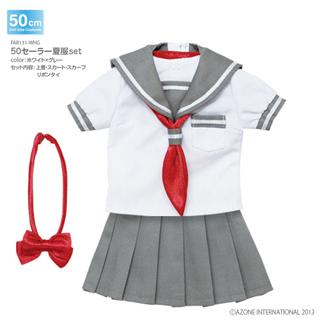 50セーラー夏服set