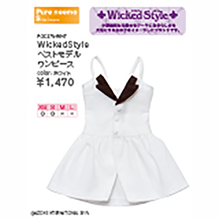 WickedStyle ベストモデルワンピース