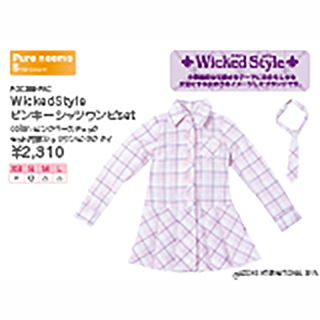 WickedStyle ピンキーシャツワンピset