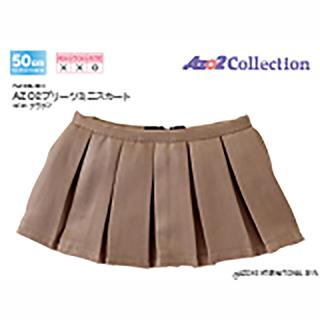 AZO2プリーツミニスカート