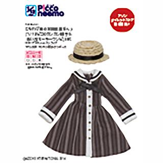 こもれび森のお洋服屋さん♪「1/12ピコD カンカン帽子&思い出セーラーワンピ」set(アゾンダイレクトストア限定販売)