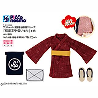 1/12ピコD プリミューレ妖精協会制服シリーズ「和装お手伝いさん」set