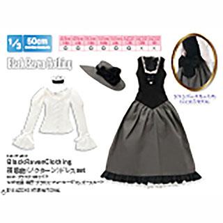 50BlackRavenClothing 夜想曲(ノクターン)ドレスset