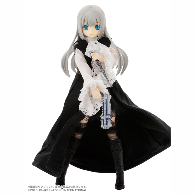 1/12Lilia(リリア)/BlackRaven~The battle of the night. 終わりの始まり~Misty Silver Edition.