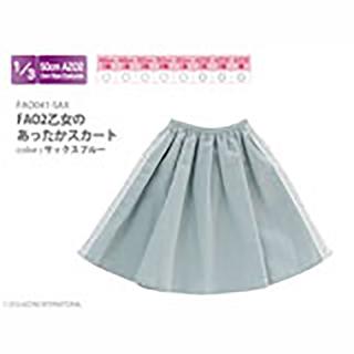 AZO2乙女のあったかスカート